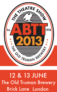 Visit us at ABTT 2013 - Blue Area - Stand 56
