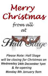 Merry Christmas from all at Hall Stage